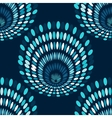 Blue chandelier vintage abstract background vector image