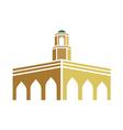 Mosque logo vector image