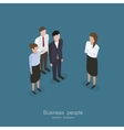Business meeting vector image