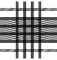 Seamless tartan pattern repeated plaid twill tile vector image