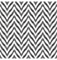 the ikat zigzag seamless pattern vector image