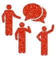 forum grunge icon vector image