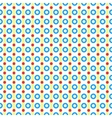 seamless pattern of circles and lines vector image