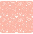 Hearts Texture vector image