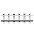 railway rails 02 vector image vector image