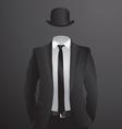 Male suit vector image