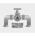 Petroleum design vector image