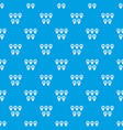 Pointer marks pattern seamless blue vector image