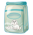A pack of dogfood vector image vector image