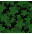 Seamless of Maple leaves vector image