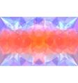 Triangular lightcolor texture vector image