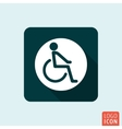 Disabled handicap icon isolated vector image