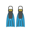 Scuba Diving Flippers vector image