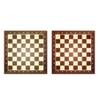 Set of chess boards vector image