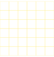 Yellow Grid White Background vector image