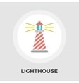 Lighthouse Line Icon vector image