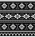 Tribal aztec seamless pattern print vector image vector image