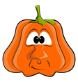 cartoon pumpkin EPS10 vector image