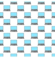 Laptop pattern seamless vector image