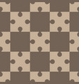 puzzle regular seamless pattern vector image