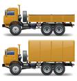 trucks set 1 vector image
