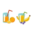 Fresh drink vector image