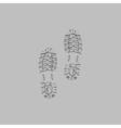 imprints computer symbol vector image