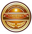 Couscous Organic Label vector image vector image