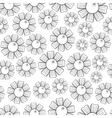 Camomiles Seamless Pattern vector image vector image