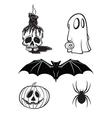 halloween cartoon s vector image