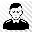 Officer Icon vector image
