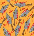 meat chopper pattern vector image