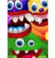 Monster cartoon vector image