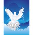 Dove in the Sky4 vector image