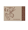 brown card 1501 01 vector image