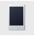 Polaroid frame  Single vector image