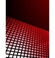 Red waveform background EPS 8 vector image vector image