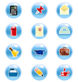 stationary icon vector image vector image