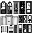 door design vector image