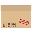 Important box vector image