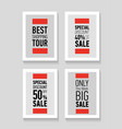 best shopping tour special discount 50 big sale vector image