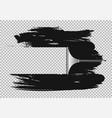 squeegee window clean effect vector image vector image