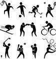 Activities vector image