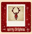 Christmas Greeting Card christmas vector image