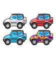 all road vehicle vector image