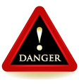 Danger Warning Sign vector image