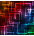 Colorful squares abstract background vector image