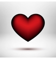 Red Valentines Day Heart vector image
