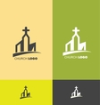 Church logo vector image