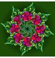 Graphics filigree ornament for design vector image